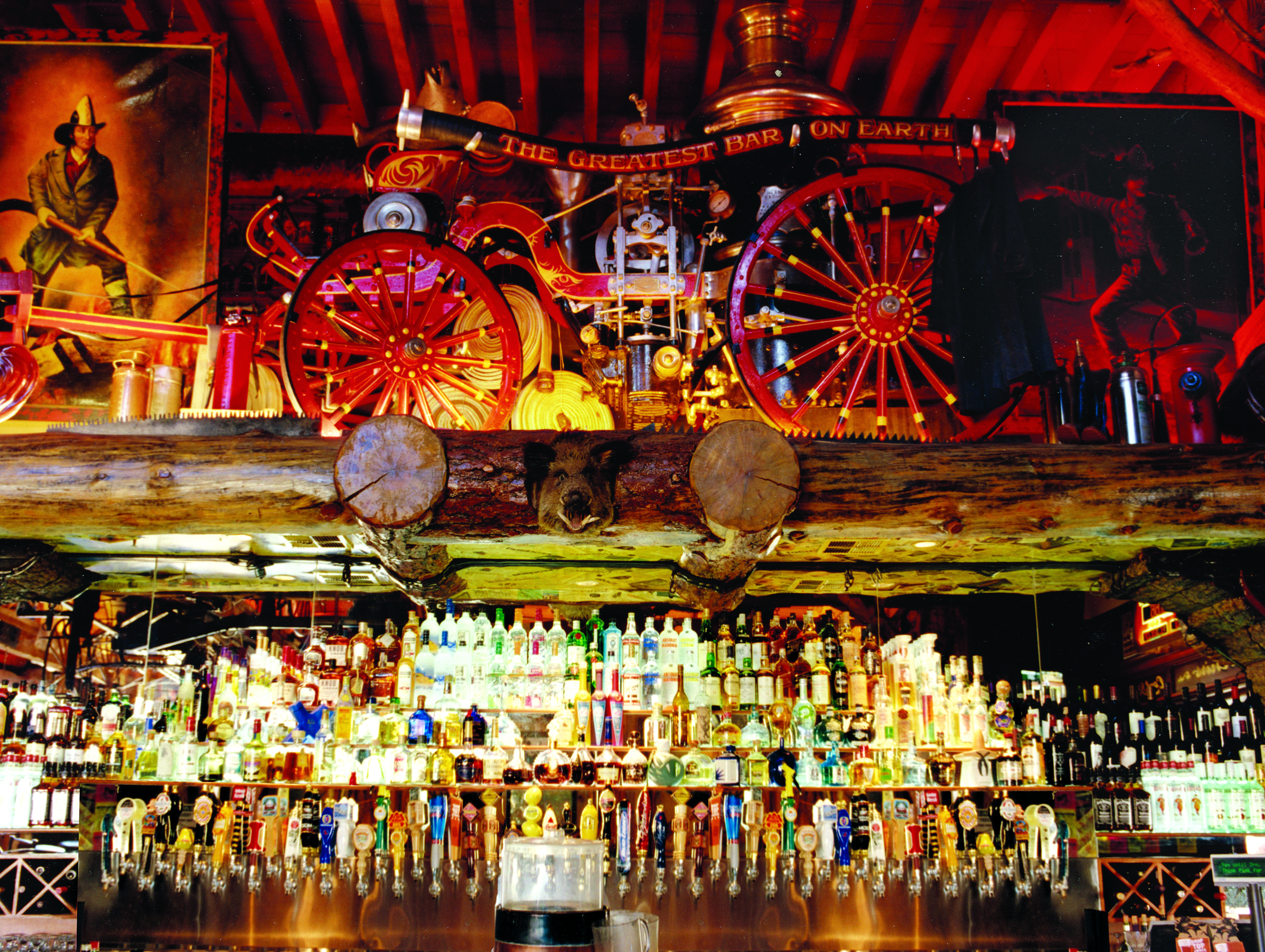 The Greatest Bar on Earth - Our Bar -The Greatest Bar on Earth- proudly features 101 different beers, 67 of the finest premium Tequilas in the world and wide assortment of other premium liquors.