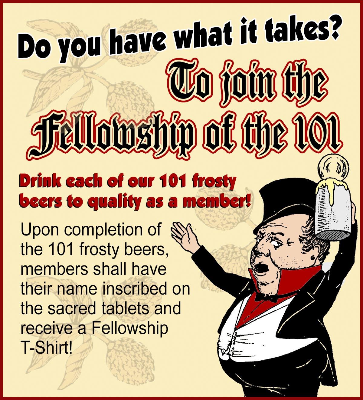 Fellowship Of The 101 For Wesbite