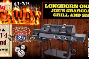 Red's Big Giveaway Grill